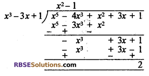 RBSE Solutions for Class 10 Maths Chapter 3 बहुपद Ex 3.2 7