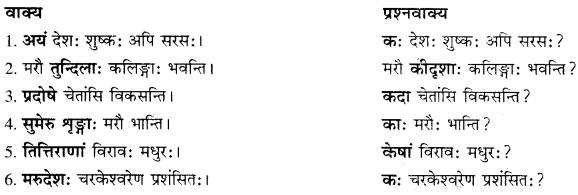 RBSE Solutions for Class 10 Sanskrit स्पन्दन Chapter 12 मरुसौन्दर्यम् image 6