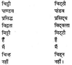 RBSE Class 7 Hindi व्याकरण मानक हिंदी का स्वरूप 4