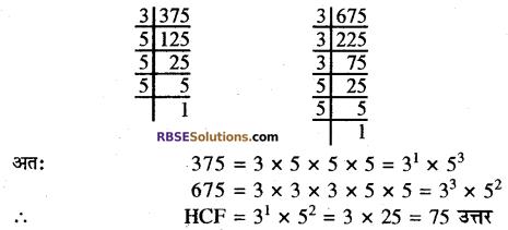 RBSE Solutions for Class 10 Maths Chapter 2 वास्तविक संख्याएँ Additional Questions 13