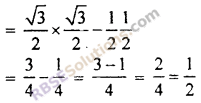RBSE Solutions for Class 10 Maths Chapter 6 Trigonometric Ratios Ex 6.1 16