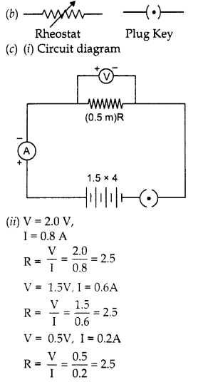 RBSE Solutions for Class 10 Science Chapter 10 Electricity Current image - 53