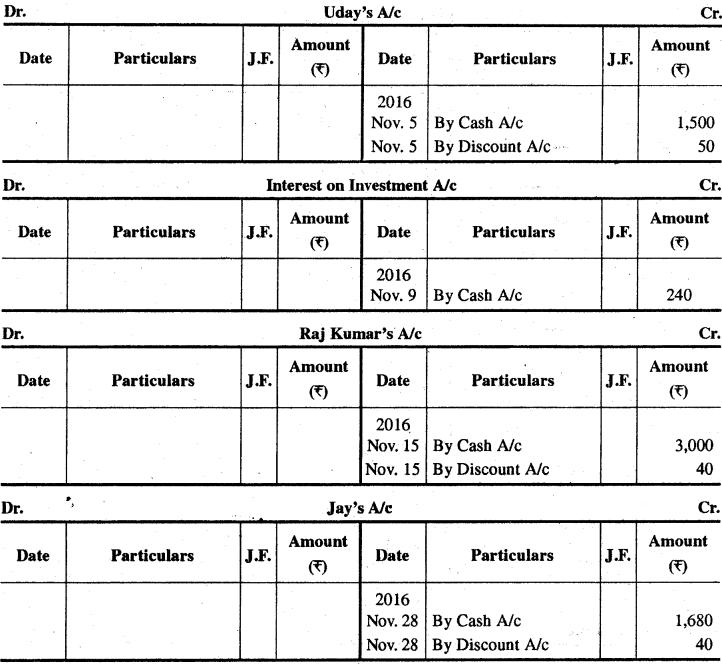 RBSE Solutions for Class 11 Accountancy Chapter 8 रोकड़ बही एवं बैंक सम्बन्धी व्यवहार image - 27