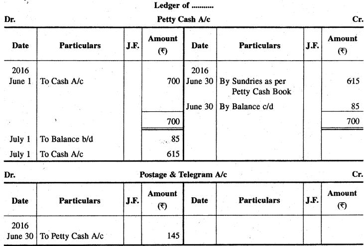 RBSE Solutions for Class 11 Accountancy Chapter 8 रोकड़ बही एवं बैंक सम्बन्धी व्यवहार image - 68
