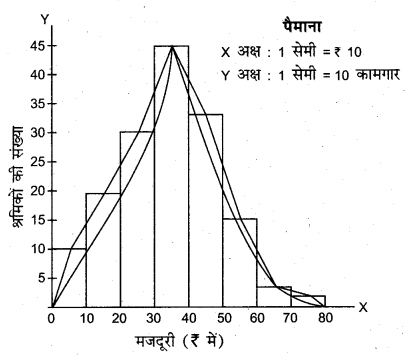 RBSE Solutions for Class 11 Economics Chapter 7 आँकड़ों का प्रस्तुतीकरण 10