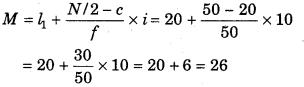 RBSE Solutions for Class 11 Economics Chapter 9 माध्यिका 101