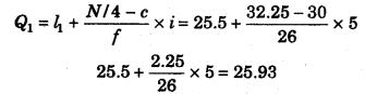 RBSE Solutions for Class 11 Economics Chapter 9 माध्यिका 12