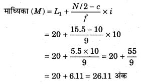 RBSE Solutions for Class 11 Economics Chapter 9 माध्यिका 28