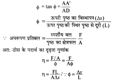 RBSE Solutions for Class 11 Physics Chapter 10 स्थूल पदार्थों के गुण 23
