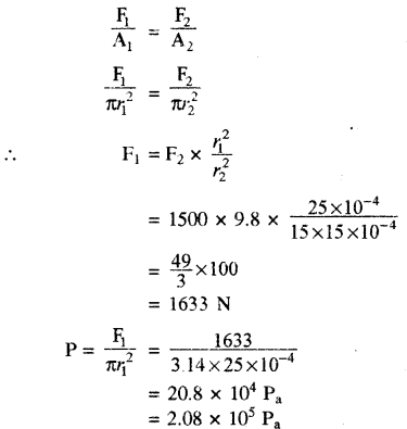 RBSE Solutions for Class 11 Physics Chapter 11 तरल 21