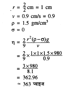 RBSE Solutions for Class 11 Physics Chapter 11 तरल 22