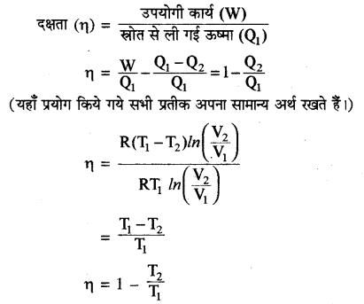 RBSE Solutions for Class 11 Physics Chapter 13 ऊष्मागतिकी 6