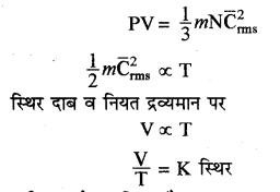 RBSE Solutions for Class 11 Physics Chapter 14 गैसों का अगुणित सिद्धान्त 11