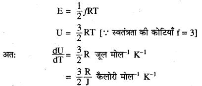 RBSE Solutions for Class 11 Physics Chapter 14 गैसों का अगुणित सिद्धान्त 19