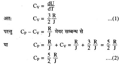 RBSE Solutions for Class 11 Physics Chapter 14 गैसों का अगुणित सिद्धान्त 20