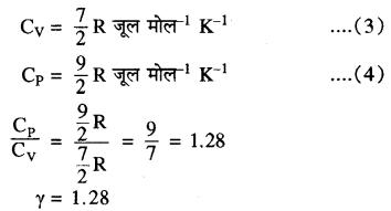 RBSE Solutions for Class 11 Physics Chapter 14 गैसों का अगुणित सिद्धान्त 23