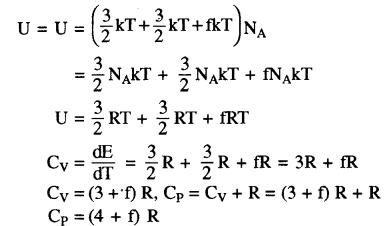 RBSE Solutions for Class 11 Physics Chapter 14 गैसों का अगुणित सिद्धान्त 24