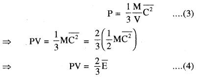 RBSE Solutions for Class 11 Physics Chapter 14 गैसों का अगुणित सिद्धान्त 30