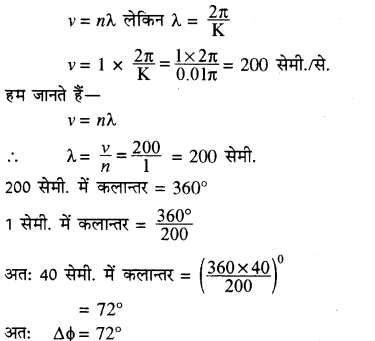 RBSE Solutions for Class 11 Physics Chapter 9 तरंग गति 55