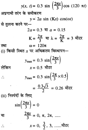 RBSE Solutions for Class 11 Physics Chapter 9 तरंग गति 65