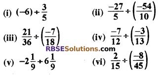 RBSE Solutions for Class 8 Maths Chapter 1 परिमेय संख्याएँ Ex 1.1 image 27