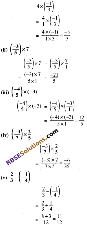 RBSE Solutions for Class 8 Maths Chapter 1 परिमेय संख्याएँ In Text Exercise image 25