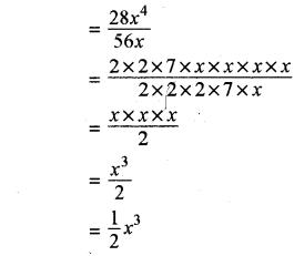 RBSE Solutions for Class 8 Maths Chapter 10 गुणनखण्ड Ex 10. 3 Q1