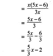 RBSE Solutions for Class 8 Maths Chapter 10 गुणनखण्ड Ex 10. 3 Q2a