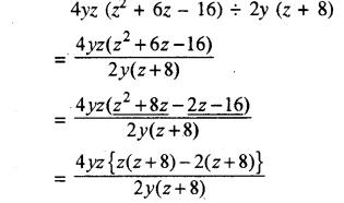 RBSE Solutions for Class 8 Maths Chapter 10 गुणनखण्ड Ex 10. 3 Q4c