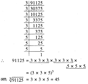RBSE Solutions for Class 8 Maths Chapter 2 घन एवं घनमूल Ex 2.2 Q2h