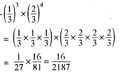 RBSE Solutions for Class 8 Maths Chapter 3 घात एवं घातांक Additional Questions AL4A