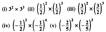 RBSE Solutions for Class 8 Maths Chapter 3 घात एवं घातांक Ex 3.1 Q4