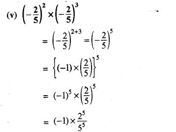 RBSE Solutions for Class 8 Maths Chapter 3 घात एवं घातांक Ex 3.1 Q4c