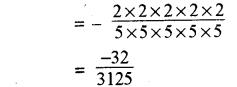 RBSE Solutions for Class 8 Maths Chapter 3 घात एवं घातांक Ex 3.1 Q4d