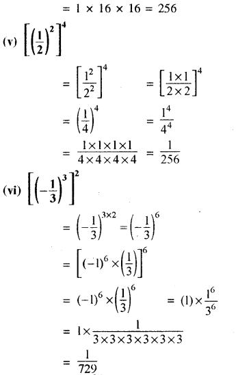 RBSE Solutions for Class 8 Maths Chapter 3 घात एवं घातांक Ex 3.1 Q6b