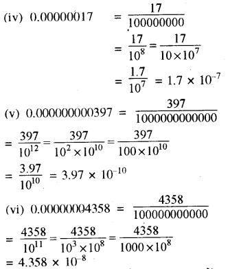 RBSE Solutions for Class 8 Maths Chapter 3 घात एवं घातांक Ex 3.3 Q1a