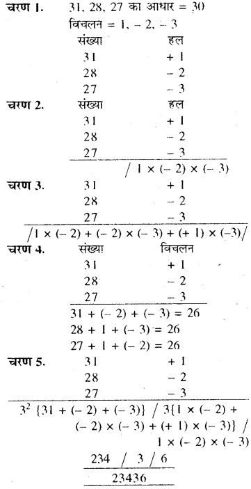 RBSE Solutions for Class 8 Maths Chapter 5 वैदिक गणित Ex 5.1 Q2h