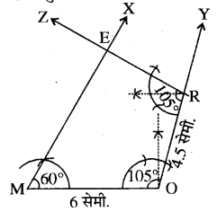 RBSE Solutions for Class 8 Maths Chapter 7 चतुर्भुज की रचना Ex 7.5 Q1A