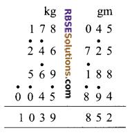 RBSE Solutions for Class 9 Maths Chapter 1 Vedic Mathematics Ex 1.1 6