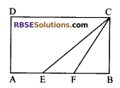 RBSE Solutions for Class 9 Maths Chapter 10 Area of Triangles and Quadrilaterals Additional Questions - 1