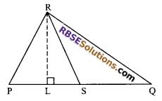 RBSE Solutions for Class 9 Maths Chapter 10 Area of Triangles and Quadrilaterals Additional Questions - 13