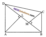 RBSE Solutions for Class 9 Maths Chapter 10 Area of Triangles and Quadrilaterals Additional Questions - 16