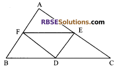 RBSE Solutions for Class 9 Maths Chapter 10 Area of Triangles and Quadrilaterals Additional Questions - 23