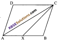RBSE Solutions for Class 9 Maths Chapter 10 Area of Triangles and Quadrilaterals Ex 10.3 - 1