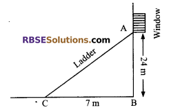 RBSE Solutions for Class 9 Maths Chapter 10 Area of Triangles and Quadrilaterals Ex 10.3 - 10