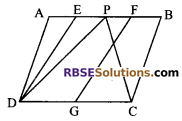 RBSE Solutions for Class 9 Maths Chapter 10 Area of Triangles and Quadrilaterals Ex 10.3 - 5