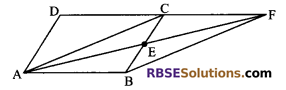 RBSE Solutions for Class 9 Maths Chapter 10 Area of Triangles and Quadrilaterals Miscellaneous Exercise - 17