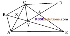 RBSE Solutions for Class 9 Maths Chapter 10 Area of Triangles and Quadrilaterals Miscellaneous Exercise - 20