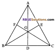 RBSE Solutions for Class 9 Maths Chapter 10 Area of Triangles and Quadrilaterals Miscellaneous Exercise - 25