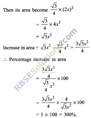 RBSE Solutions for Class 9 Maths Chapter 11 Area of Plane Figures Additional Questions - 3